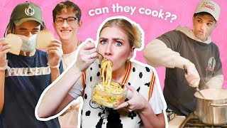 A Boy Band Cooks For Me For A Week Feat. PRETTYMUCH