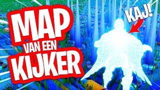 KAJ PESTEN IN ESCAPE ROOM!! MAP VAN EEN KIJKER! FORTNITE CREATIVE MINIGAME