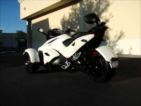 vend 2010 can am spyder rs s se5 occasion e mail tc 78 youtube. Black Bedroom Furniture Sets. Home Design Ideas