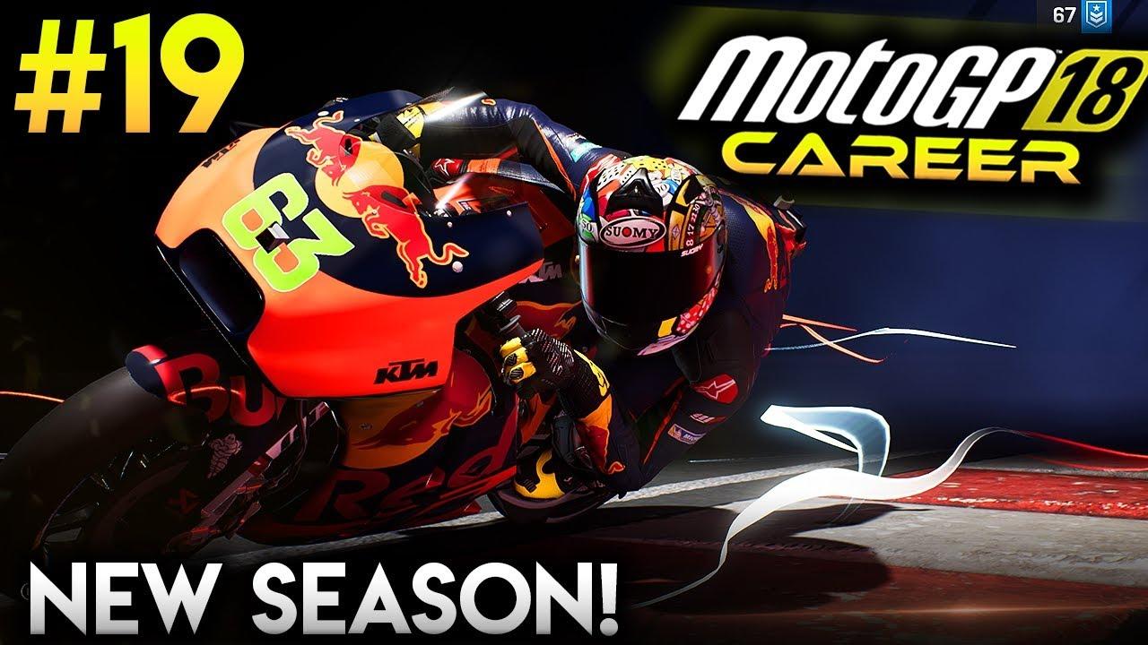 motogp 18 career mode part 19 new motogp season motogp. Black Bedroom Furniture Sets. Home Design Ideas