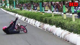 Detik detik Joki Cewek NADINE  DA JATUH Drag Bike Slawi