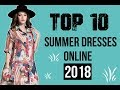 Buy Cute and Cheap Summer Dresses Online For Women 2018| New Summer Dresses Collection