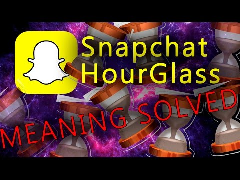 Snapchat HourGlass Emoji MEANING SOLVED [Fast Explanation!!]