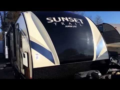 2017 Sunset Trail Super Lite 271RL! NEW PRODUCT CHANGES FROM DEALER OPEN HOUSE