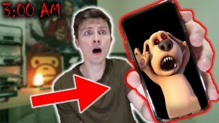 *SCARY* DO NOT CALL TALKING BEN AT 3 AM! (HE CAME TO LIFE!!)