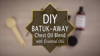 DIY chest-rub oil that works to clear breathe ways