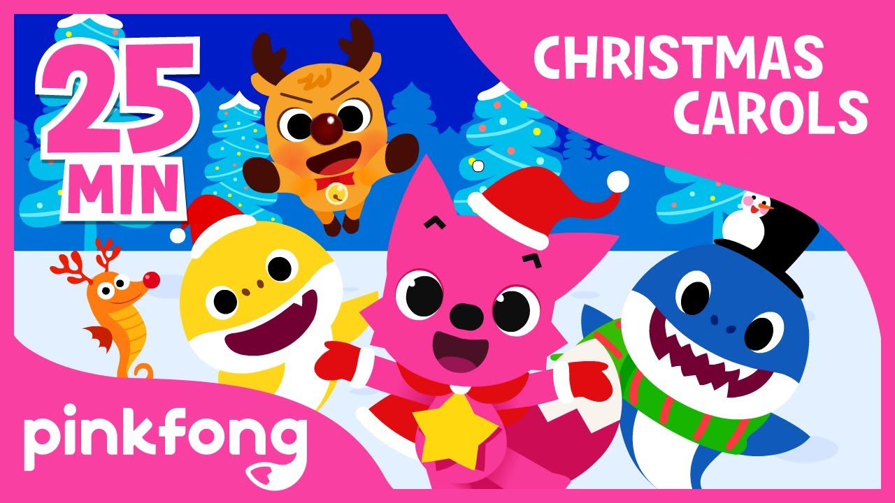 Christmas Carols For Kids.Best Carols For Kids Christmas Carols Compilation Pinkfong Songs For Children