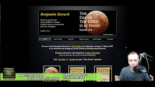 Benjamin Baruch: Coming Judgement & The Day of The Lord