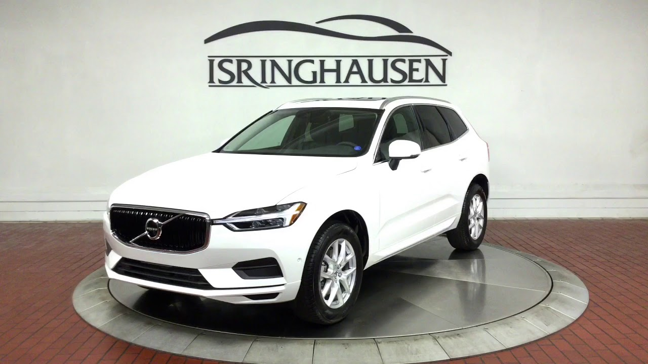 2018 volvo xc60 t5 awd momentum in ice white 109668. Black Bedroom Furniture Sets. Home Design Ideas
