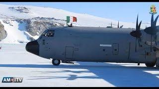 Baixar Video News Aeronautica Militare - Il velivolo C-130J della 46ª Brigata Aerea atterra in Antartide