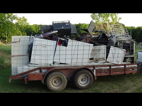 saturday's-load-to-the-yard-&-the-2-loads-of-scrap-that-i-picked-up