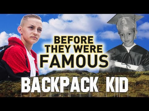 BACKPACK KID - Before They Were Famous - UPDATED / INTERVIEW w. Russell Horning