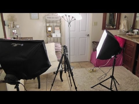 My Lighting & Filming Set-Up For YouTube Videos