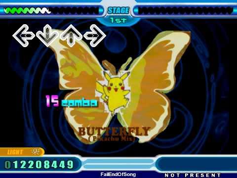Step Mania - Butterfly (Pikachu Remix)