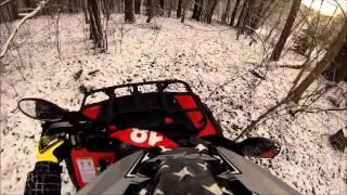 CF MOTO 500-2a WINTER DRIFT ATV 4x4