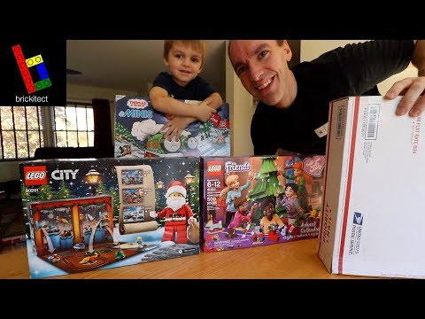 LEGO ADVENT CALENDAR HAUL & MYSTERY BOX OPENING!