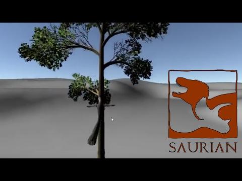 Saurian Climbing Demonstration