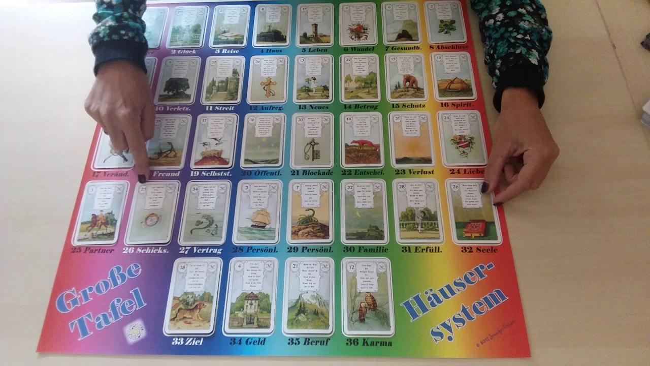 lenormandkarten grosse tafel