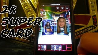 2k supercard on iphone