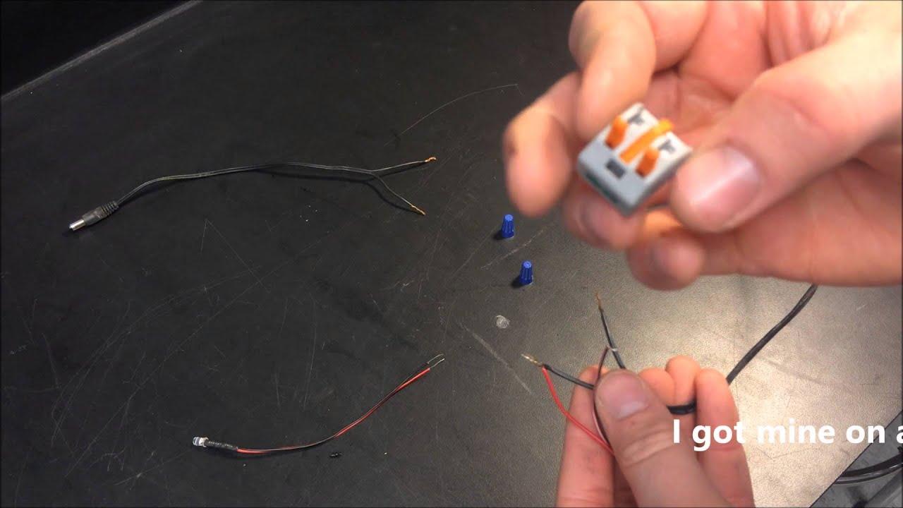 Wire connection. Description of Connection Methods 28