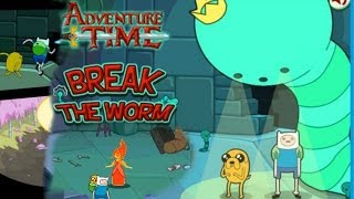 Adventure Time Break the Worm ( Juego Aleatorio )
