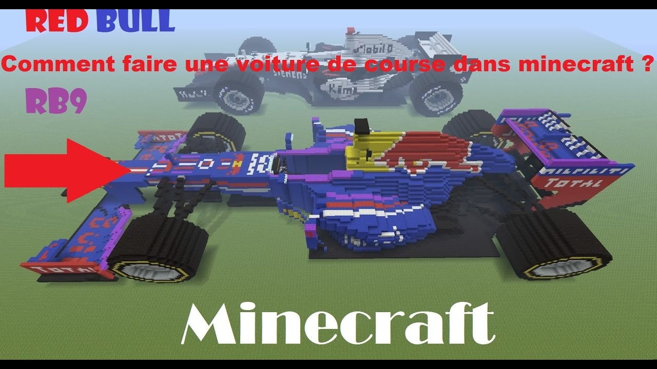 Minecraft comment faire un voiture de course dans minecraft youtube - Comment faire un chalet dans minecraft ...