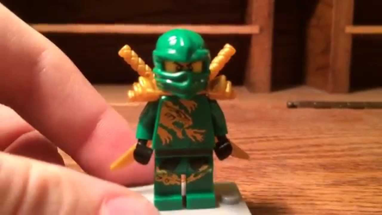 Ninjago 2015 Lloyd Dragon Suit Minifigure Review