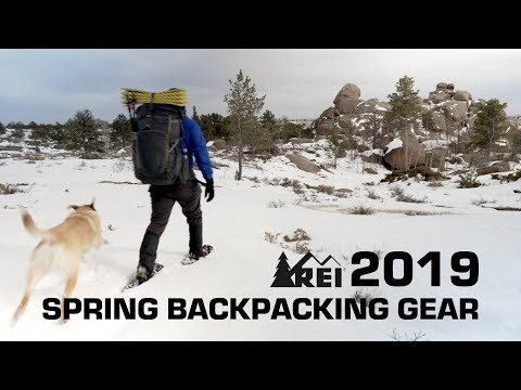 Spring lightweight backpacking with 2019 REI gear and dog Mp3
