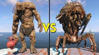 Fallout 4 - 50 Behemoths VS 75 Mirelurk Queens - Battles #2