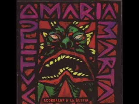 Actitud Maria Marta - Voy para adelante (Version Estudio)