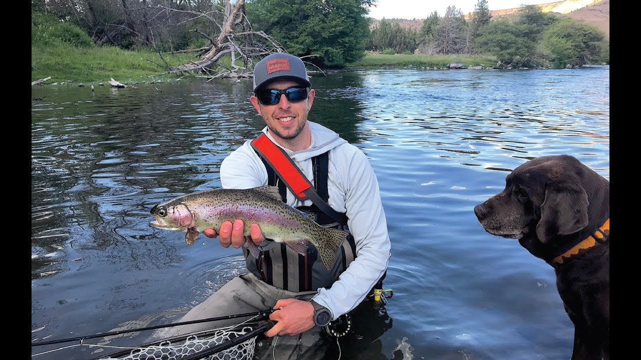 Fly fishing central oregon semi live series ep 01 youtube for Central oregon fishing report