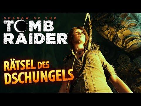 Shadow of the Tomb Raider #014   Rätsel des Dschungels   Gameplay German Deutsch