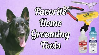 Grooming Your Dog At Home  What I Use  German Shepherd
