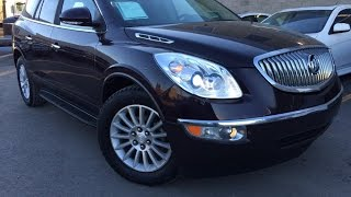 Used Brown 2009 Buick Enclave AWD CXL Review | Red Deer Alberta