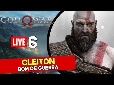 [Live] God of War (PS4) Dificuldade Hard Ao vivo #6 - Explorando 100%, rumo ao troféu de platina! - 동영상
