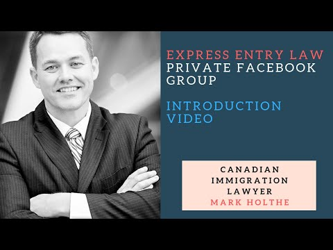 Express Entry Law Private FB Group Intro