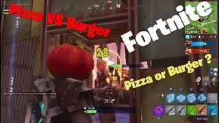 New Pizza VS Burger mode in Fortnite !!!