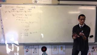 Solving Log Equations w/ Extraneous Solutions (Example 2 of 2)