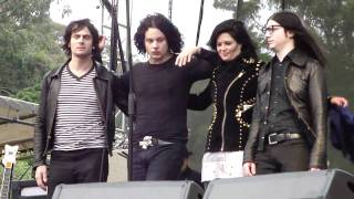 The Dead Weather, Will There Be Enough Water, Outside Lands, San Francisco, CA 8 30 09