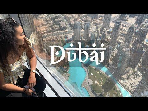 DUBAI 2019 VLOG (VERSACE, WATER PARK, BURJ KHALIFA, RED SAND DESSERT)