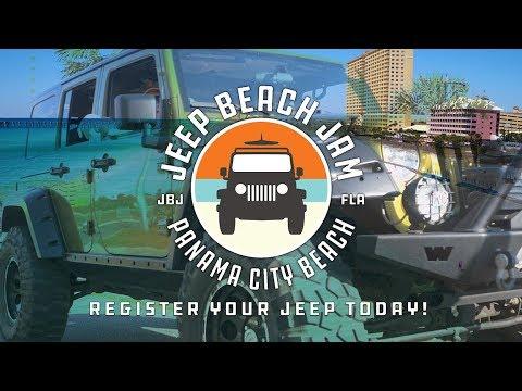 Jeep Beach Jam Panama City Beach, FL 2018 Promo by SKYPRO Imaging