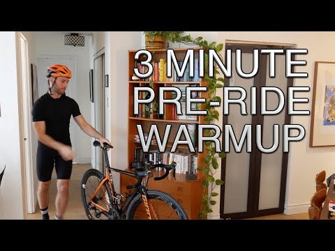 Cycling Warmup For Knee Pain And More In 3 Minutes | Pre-Bike Dynamic Warm-Up | Dr Alex Ritza