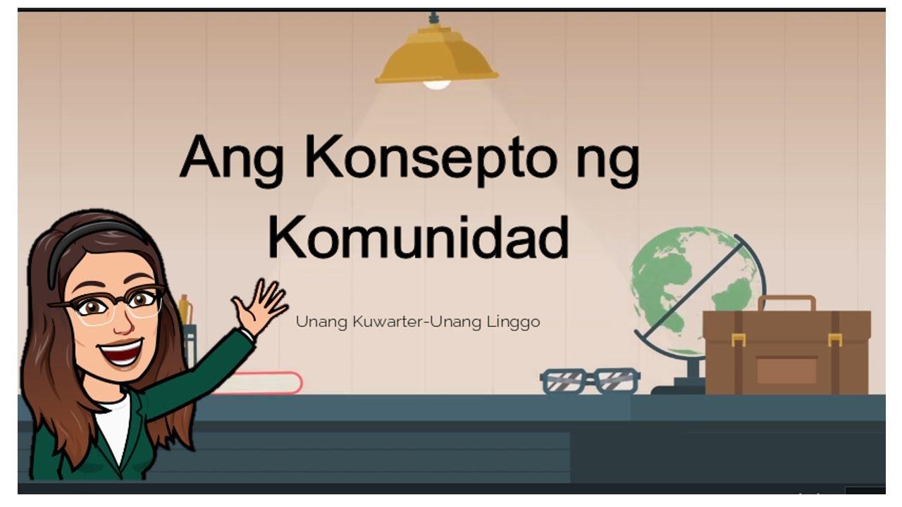 small resolution of Araling Panlipunan 2 MELC : Quarter 1/Week 1 Konsepto ng Komunidad - YouTube