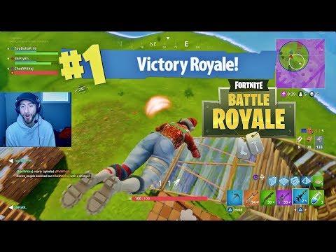 CRAZIEST JUMP PAD WIN EVER IN Fortnite Battle Royale!