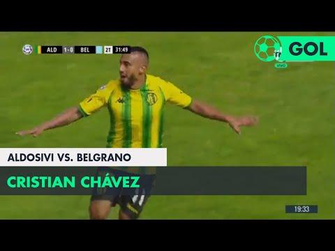 Cristian Chávez (1-0) Aldosivi vs Belgrano | Fecha 6 - Superliga Argentina 2018/2019