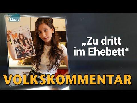 """Zu dritt im Ehebett"" (Von Anna-Sophia Bühler-Sasek)   27. Februar 2021   www.kla.tv/18202"
