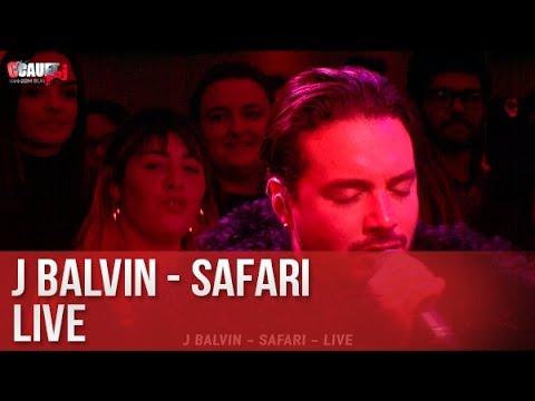 J Balvin - Safari - Live - C'Cauet sur NRJ