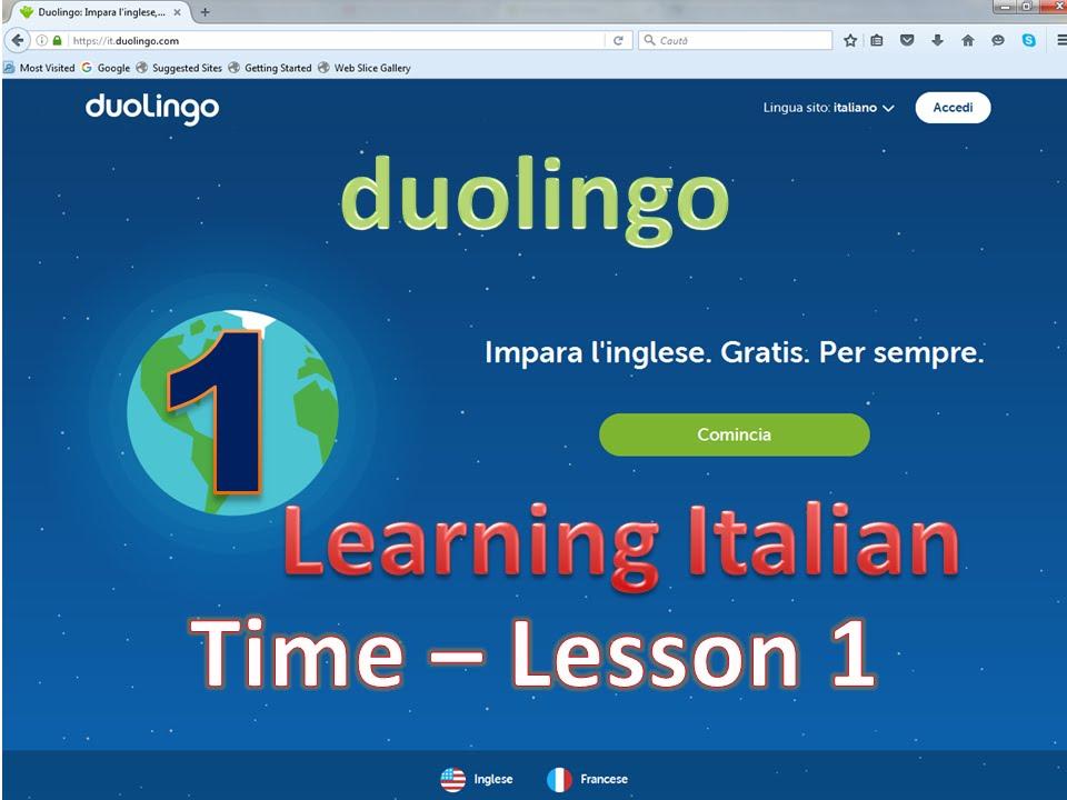 duolingo inglese