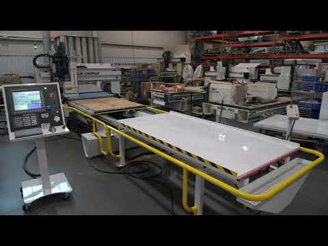 CNC Router - Automated Outfeed Demo - C.R. Onsrud RH-Series