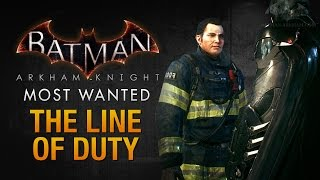 Batman: Arkham Knight - The Line of Duty (Most Wanted Walkthrough)